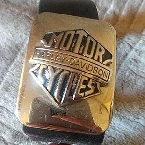 Harley Davidson leather belt.